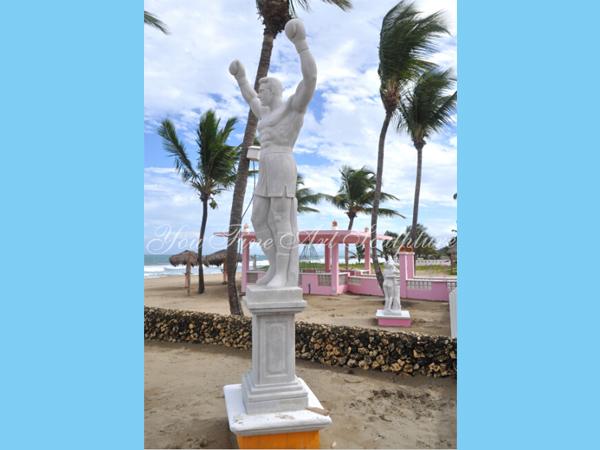 Famous sculpture of Saint michael archangel statue for Canada client