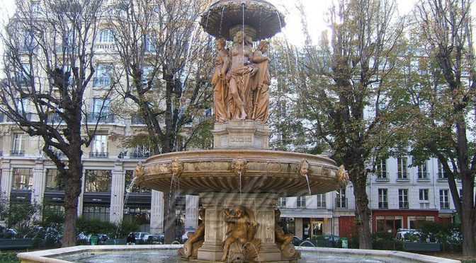 Hot sale grand square antique bronze statues fountain