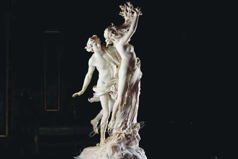 Apollo and Daphne statue for sale