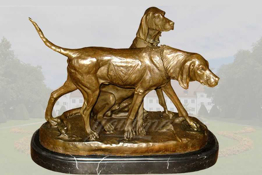 Life size bronze greyhound dog statue BABD-01