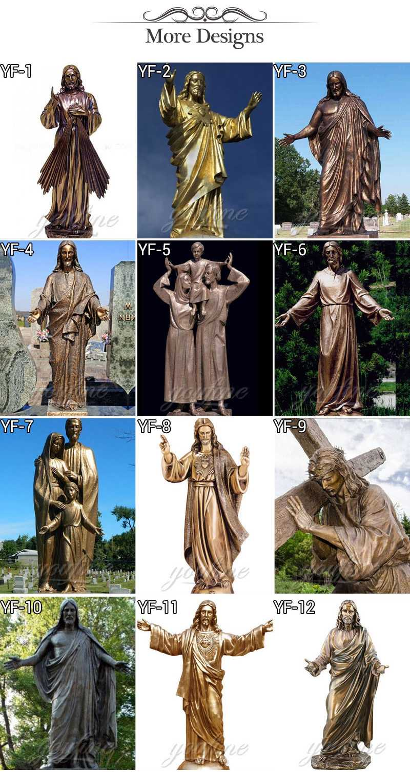 Bronze Jesus Statues
