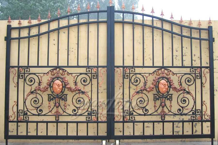 Cast Iron Main Sliding Gate For Home