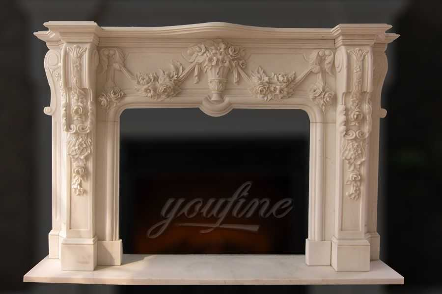 Top 28 decorative fireplace marble fireplace large for Marble mantels for sale