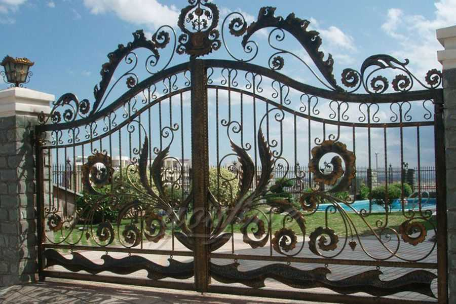 Decorative Wrought Iron Gate Designs