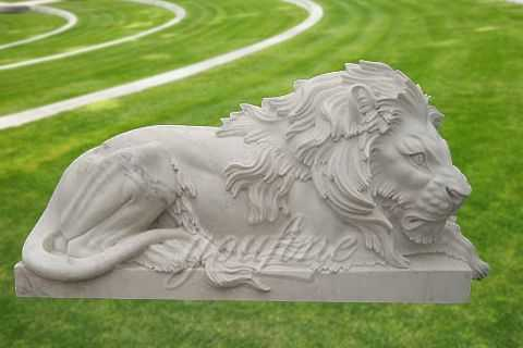 Decorative garden stone animal sculpture