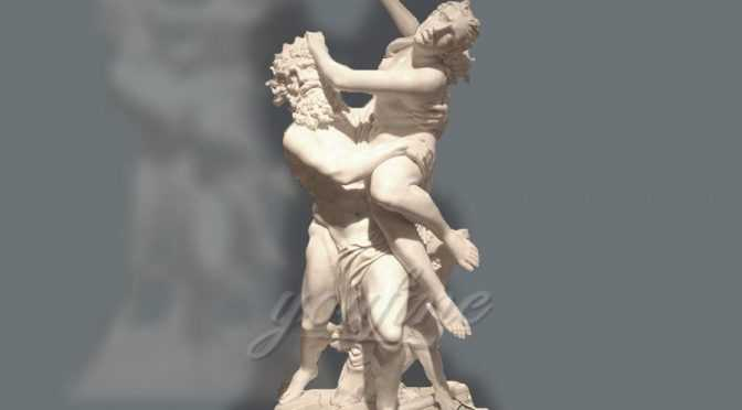 Famous Marble Statue of Rape of Proserpina