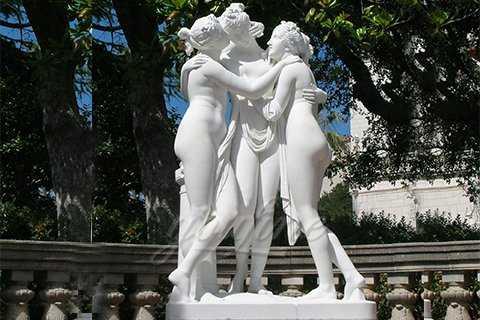 Garden Decor Life Size Statue Three Graces Sculpture