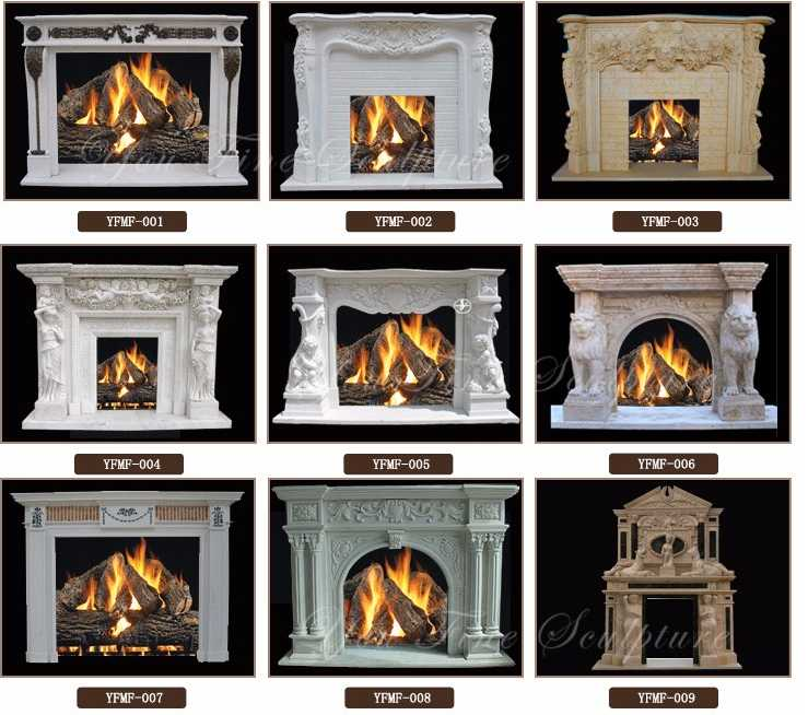 How to order MarbleStone Fireplaces Mantel