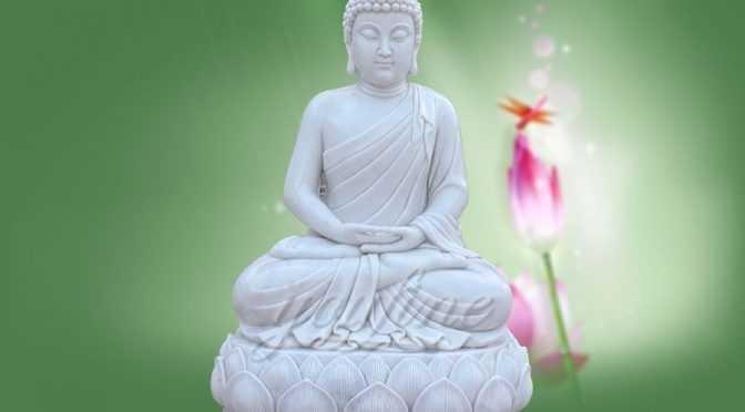 Life Size Sitting Shakyamuni Marble Buddha Statue