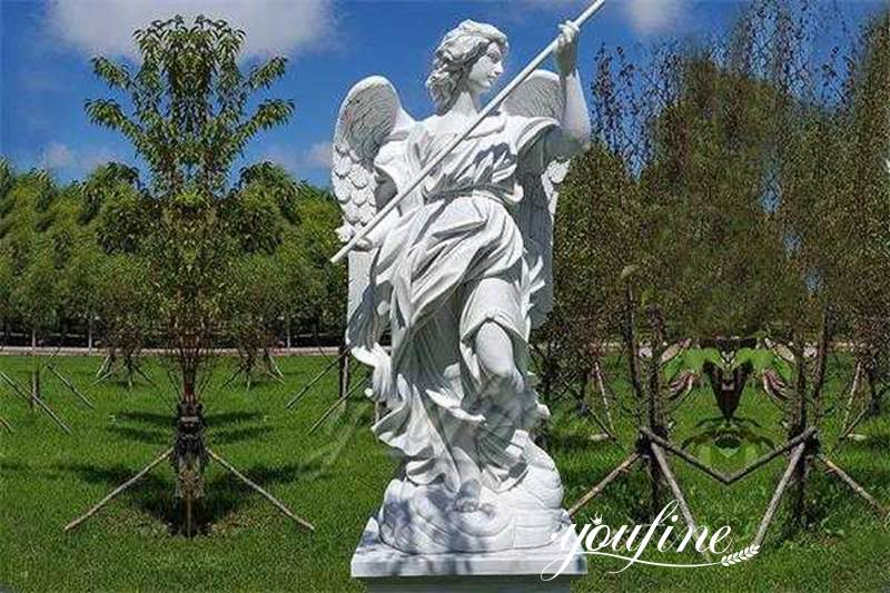Life-size-outdoor-marble-angel-sculpture-for-sale