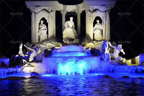 Marble Trevi Fountain for sale
