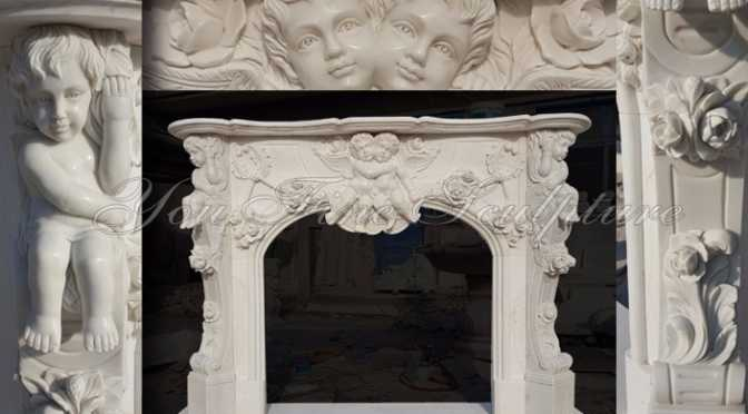 MarbleStone Fireplaces Mantel