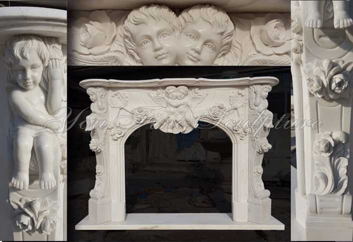 How to order Marble/Stone Fireplaces Mantel