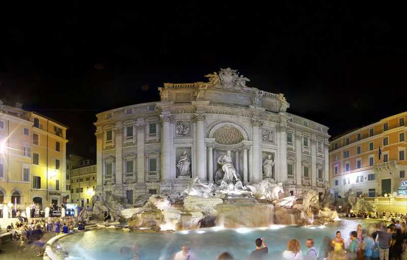 Most Famous Fountain Trevi Fountain