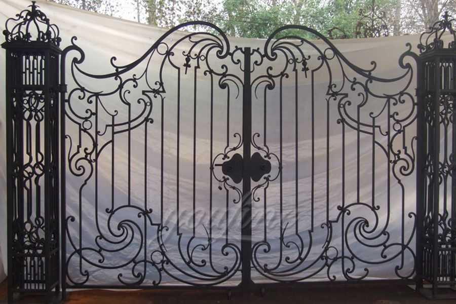 New Design Wrought Iron Main Gate