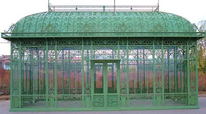 Outdoor Garden Low Price Iron Green House (3)
