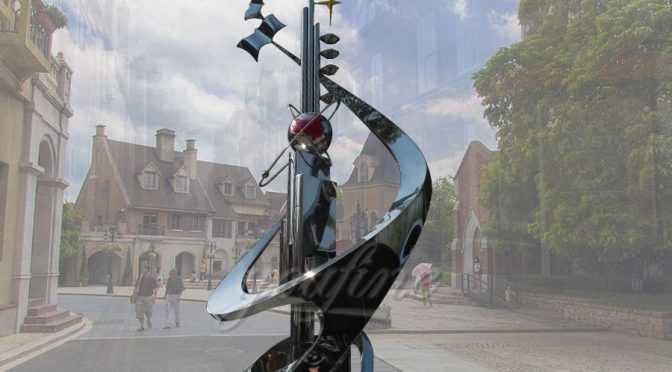 Outdoor decoration stainless steel star sculpture