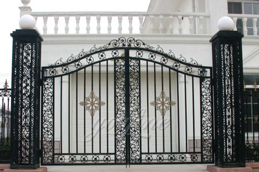 Simple Cast Door Iron Gate Designs