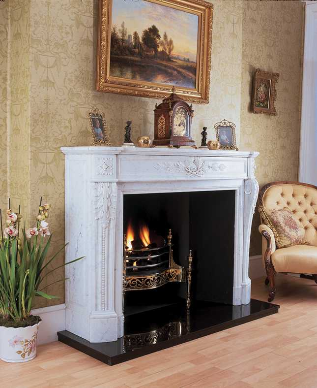 Timeless Classic Antique Marble Fireplace London