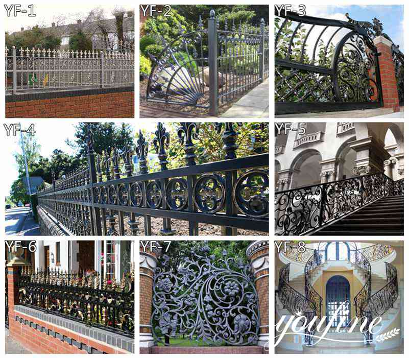 Wrought Iron Gate Design for Sale