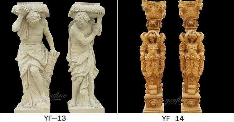 caryatid column for sale