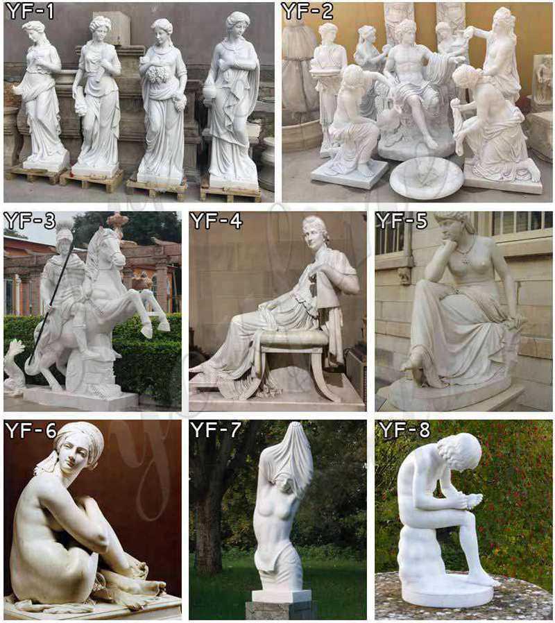 famous figure marble sculptures