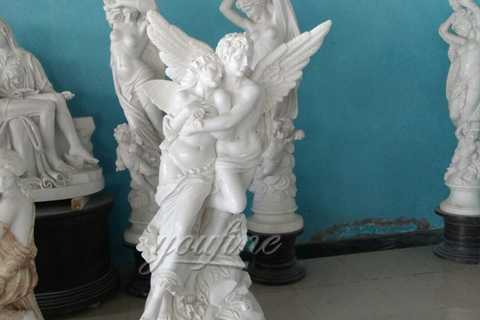 famous garden Angel Marble Statue of Apollo and Daphne on discount sale