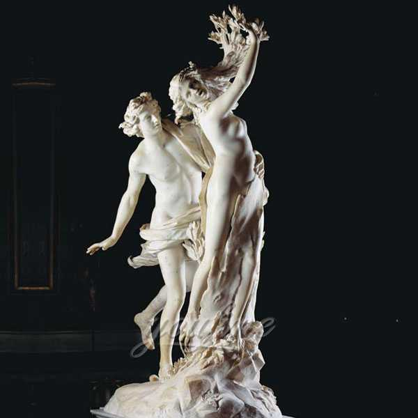famous marble Apollo and Daphne statue for garden