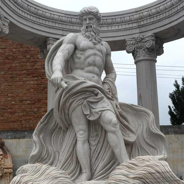 famous poseidon statue in trevi fountain for sale