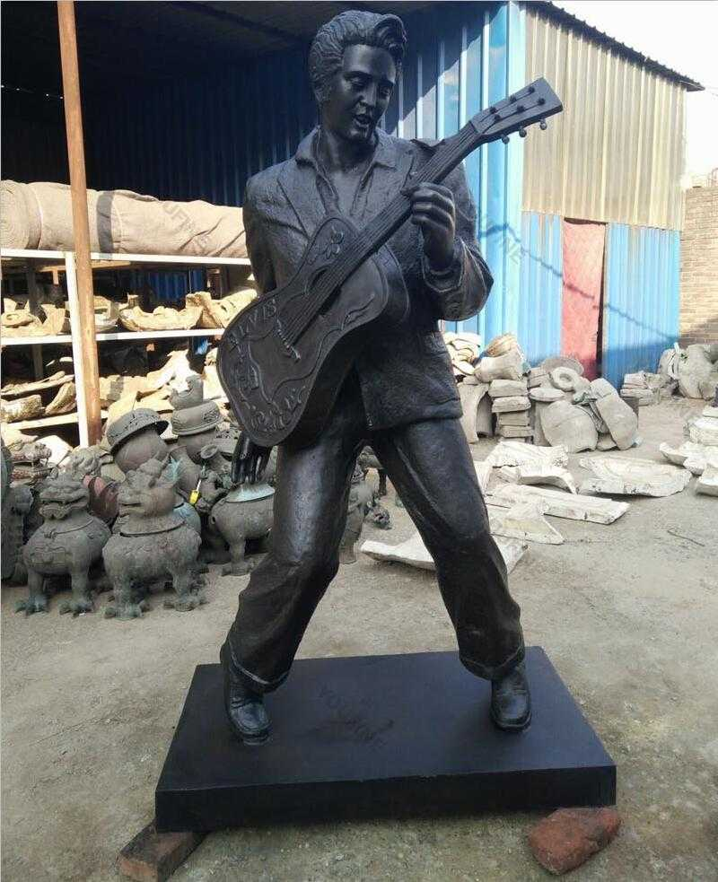 famous singer bronze Elvis presly statue for sale