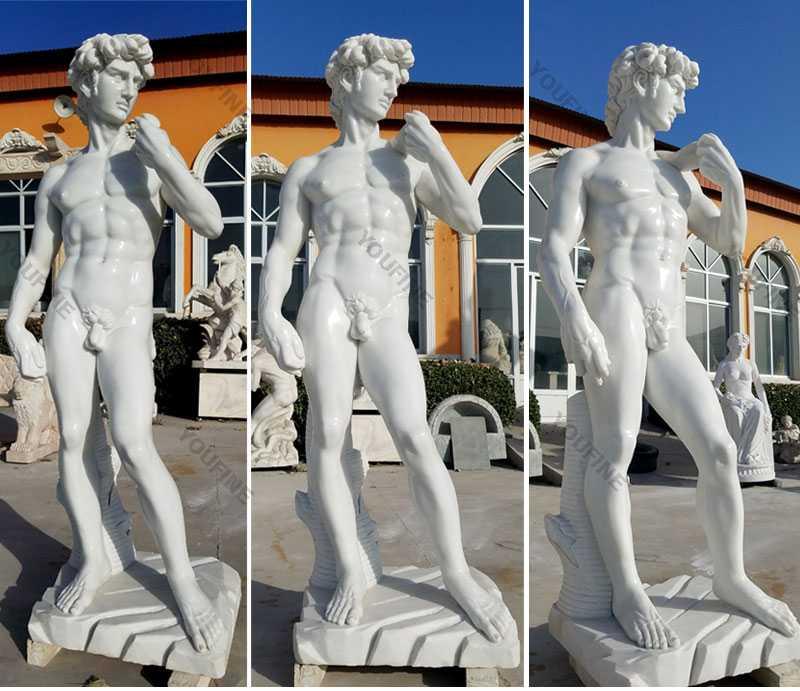 garden marble david statue for sale
