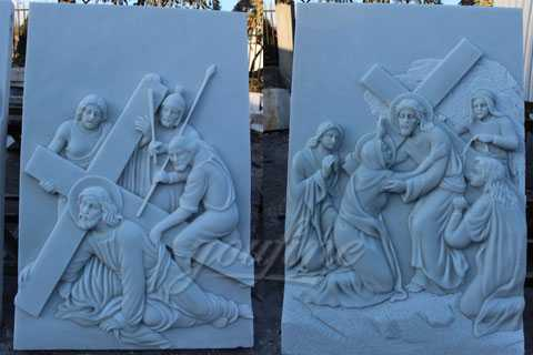 jesus marble relief for sale