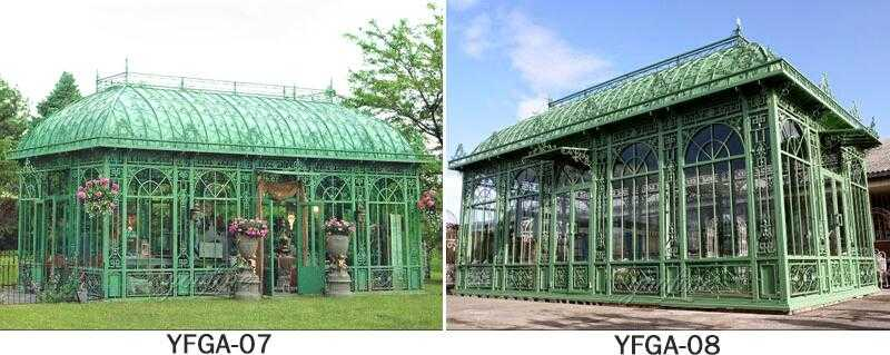 large greenhouse gazebo design for spa for sale