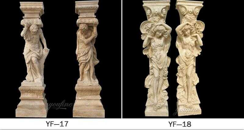 male caryatid front porch columns home depot