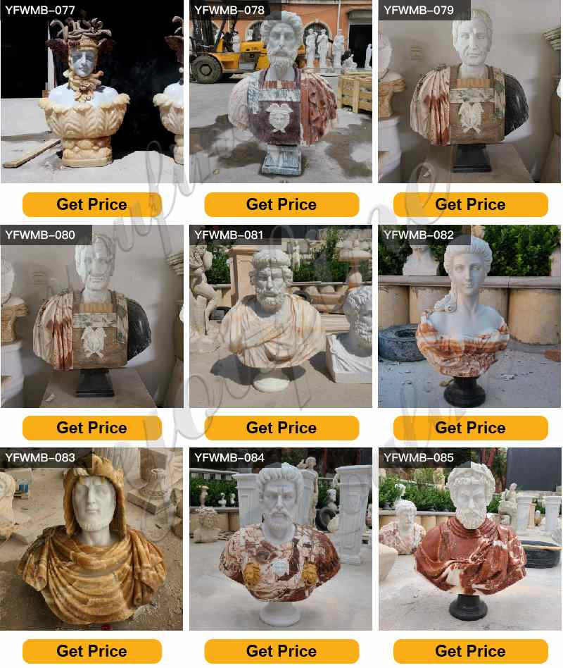 marble bust statue for sale