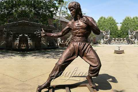 alibabba bruce lee statue