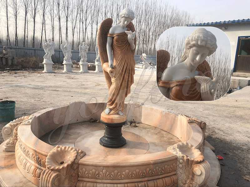 outdoor water fountain statues for sale