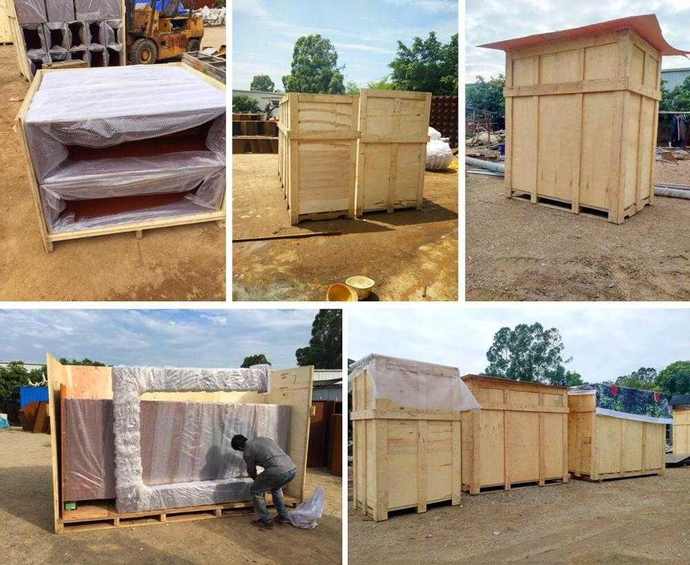 package of large marble gazebo