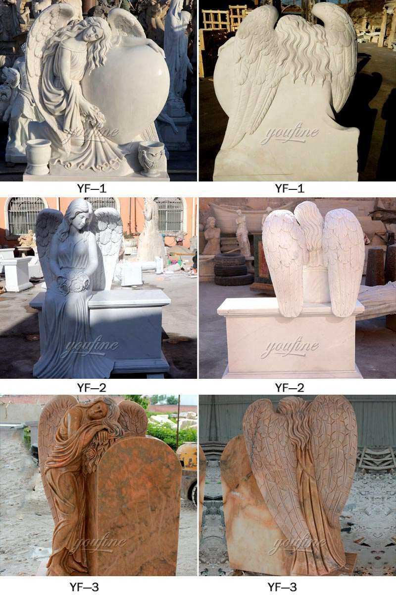 white-marble-cemetery-angel-headstone-for-sale