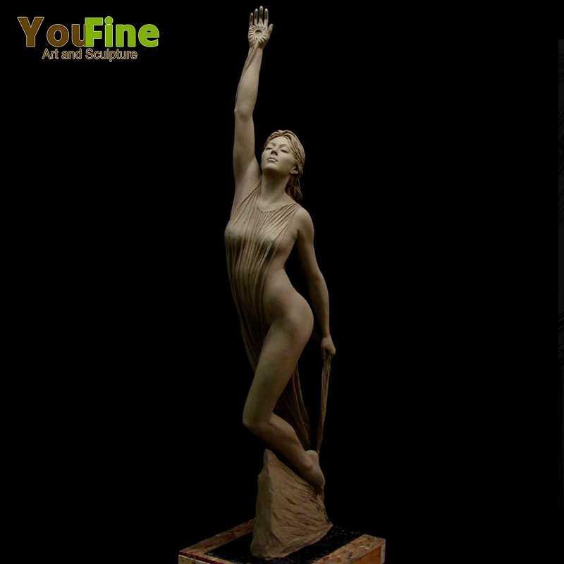 Life Size Marble Awakening Dawn Statue