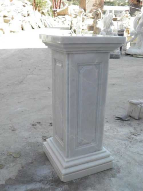 Marble Pedestal of Bust for Canada Clients