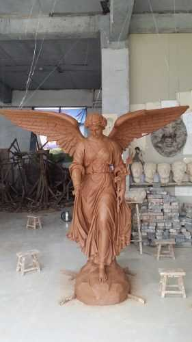Bronze Angel Statue For American Customer.