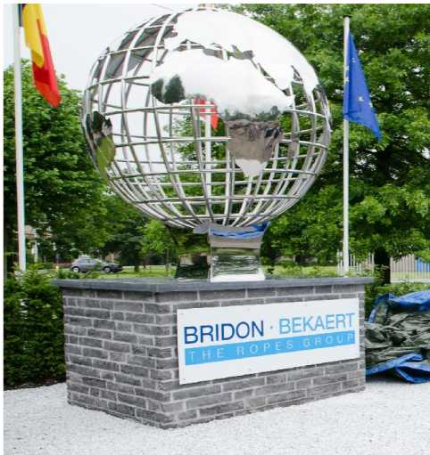 Belgium Kevin Ordered A Sphere World Stainless Steel Sculpture- You