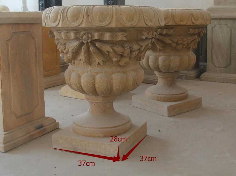 Garden Marble Planters for Bulgaria Client