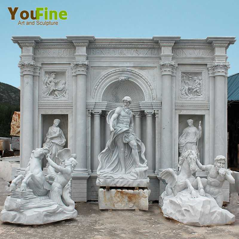 Where To Buy Best Great Famous Marble Stone Trevi Fountain