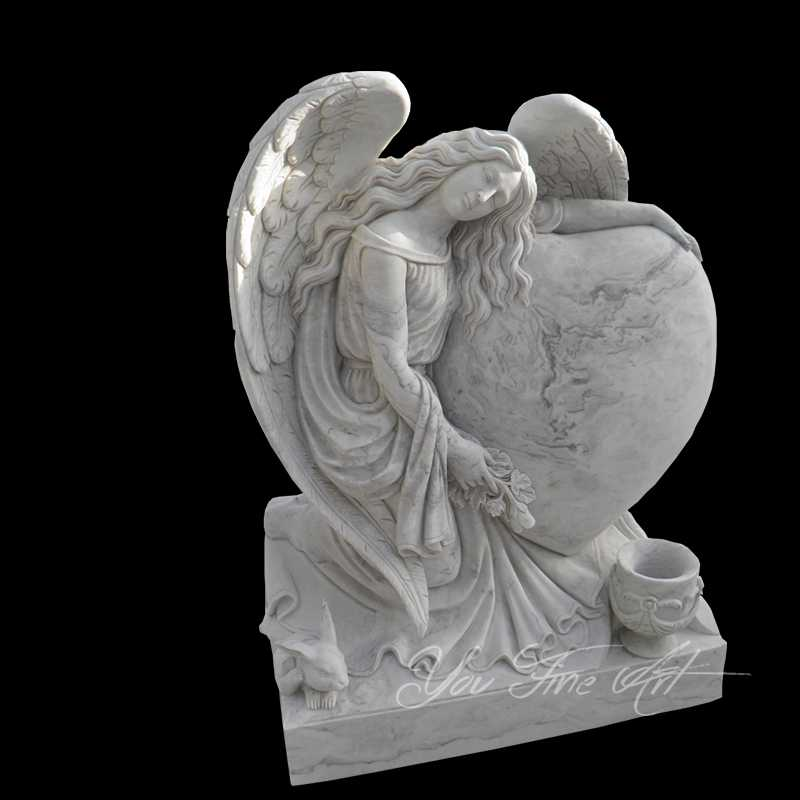 Customized Angel Headstone Made for Australian Client