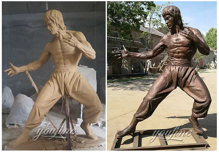 bruce lee statue for outdoor