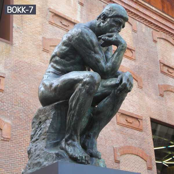Copy Large Outdoor Famous Bronze Thinker Sculpture