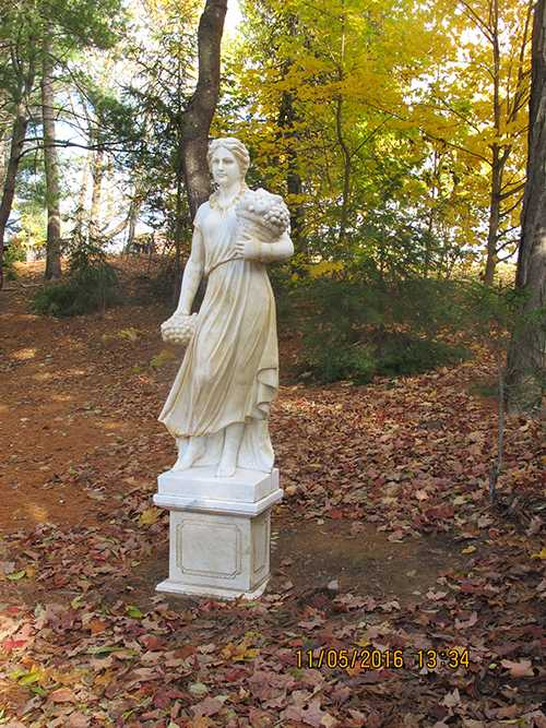 Life Size Classic Antique Marble Four Season Statues for American Clients