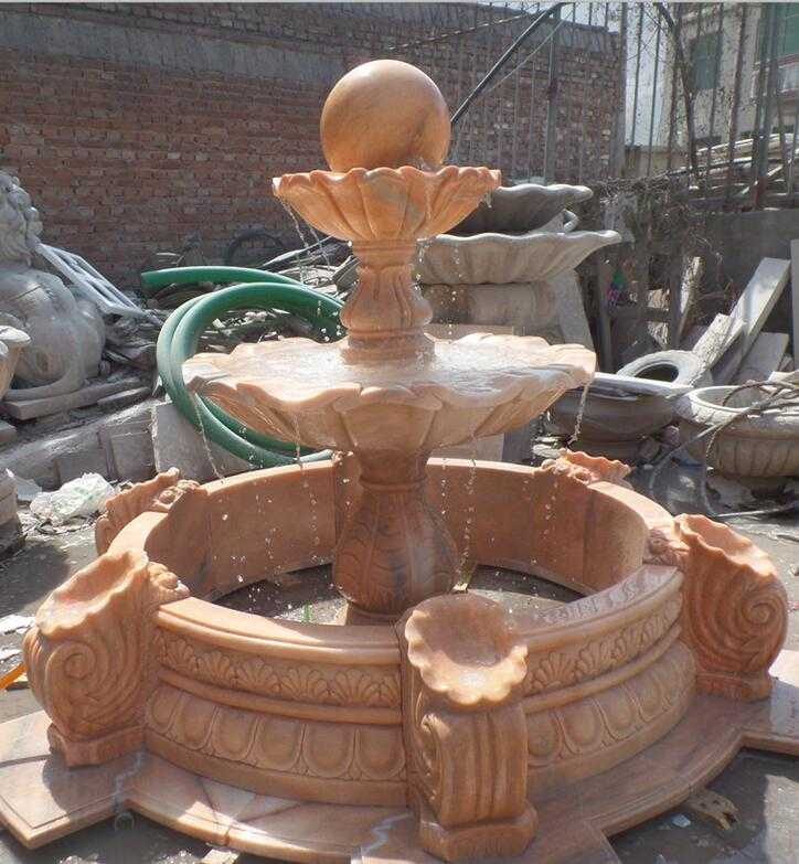 Marble Water Fountain for American Client- Mike